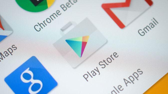 Google Play Store. (Istimewa)
