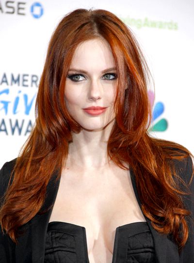 Long Tousled Red Hairstyles Beauty Riot