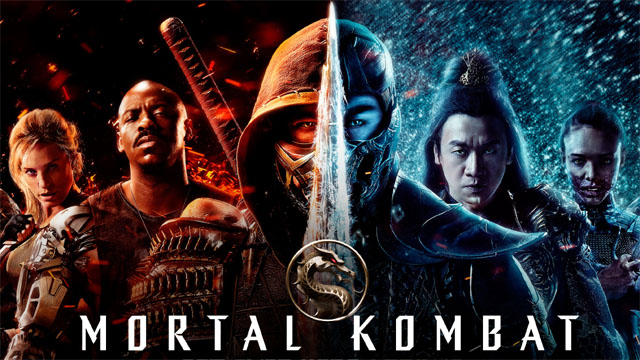side in the new mortal kombat poster
