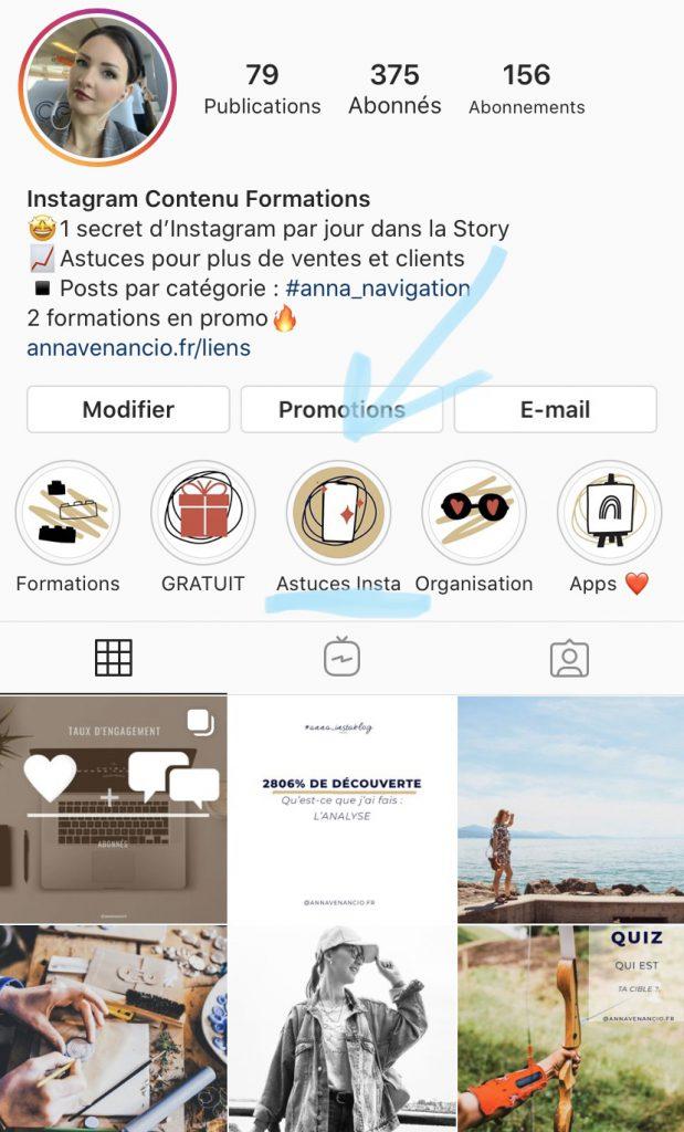 astuces instagram stories