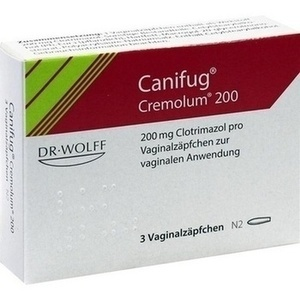 Canifug Cremolum 200 Vaginalsuppositorien 3 Ps Infection Wound Care Classical Medicine Eumed