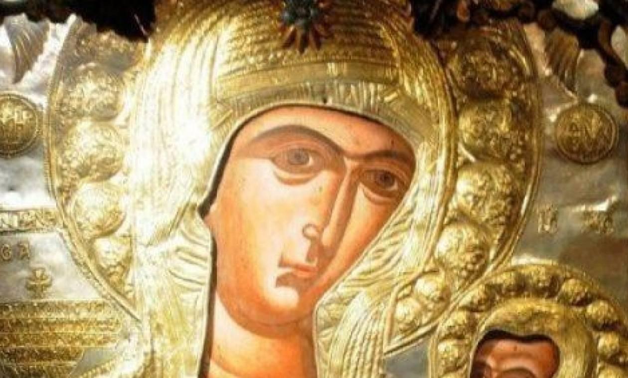 Το εικόνισμα της Παναγίας - Αληθινή Ιστορία