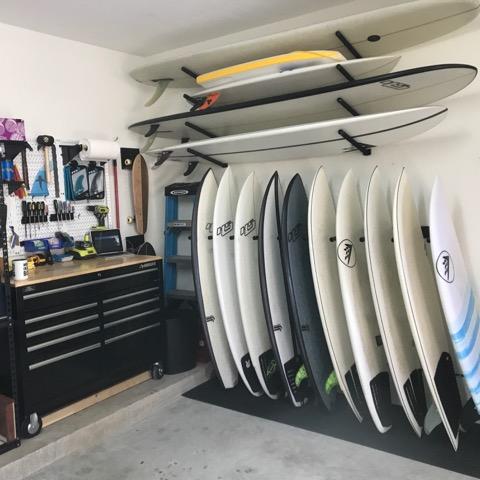 surfboard racks cool customer pictures