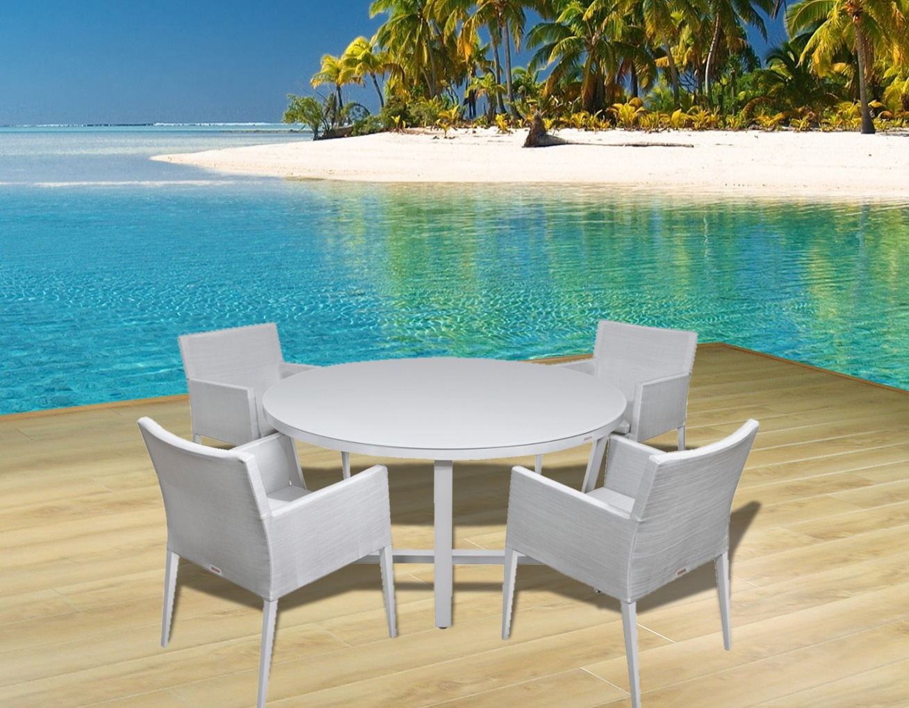 Modern Outdoor Patio Furniture, Dining Sets, Contemporary