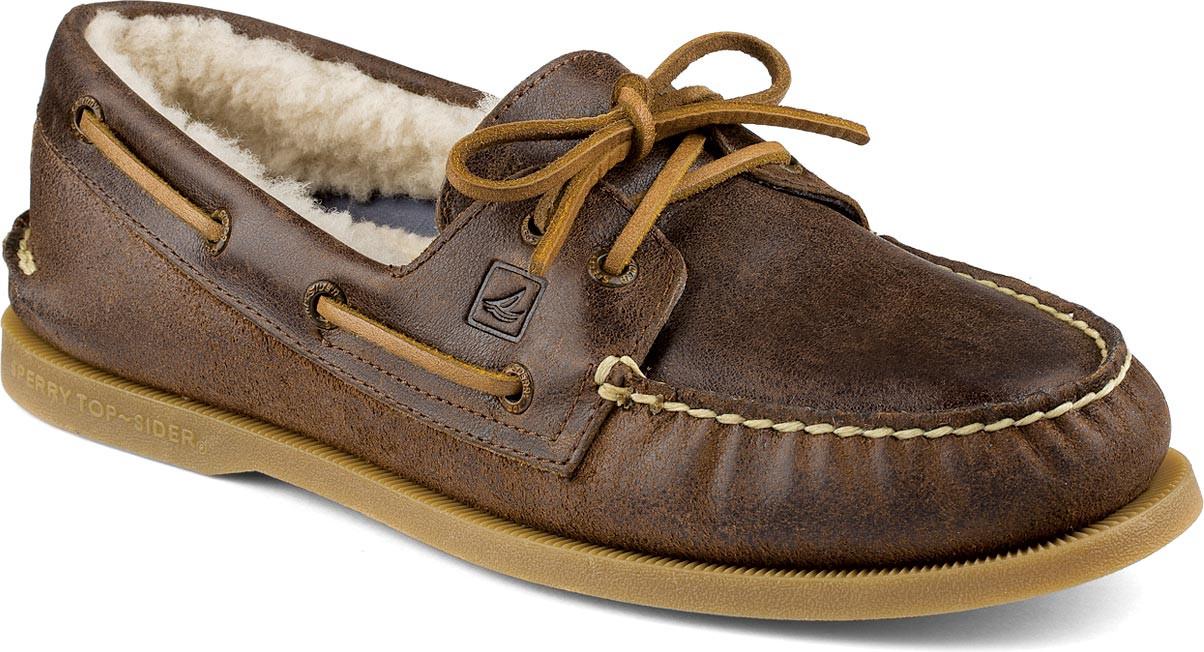 Tan Mens Sperry Boat Shoe