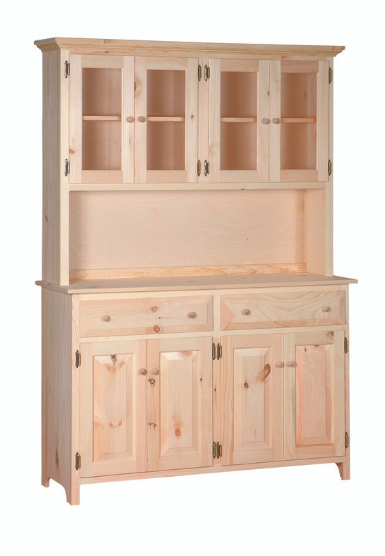 American Pride Large Kitchen Buffet Server Hutch