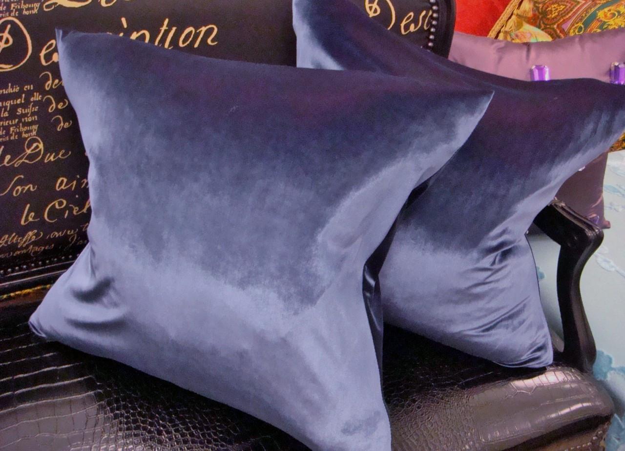 velvet throw pillow cover 22 x 22