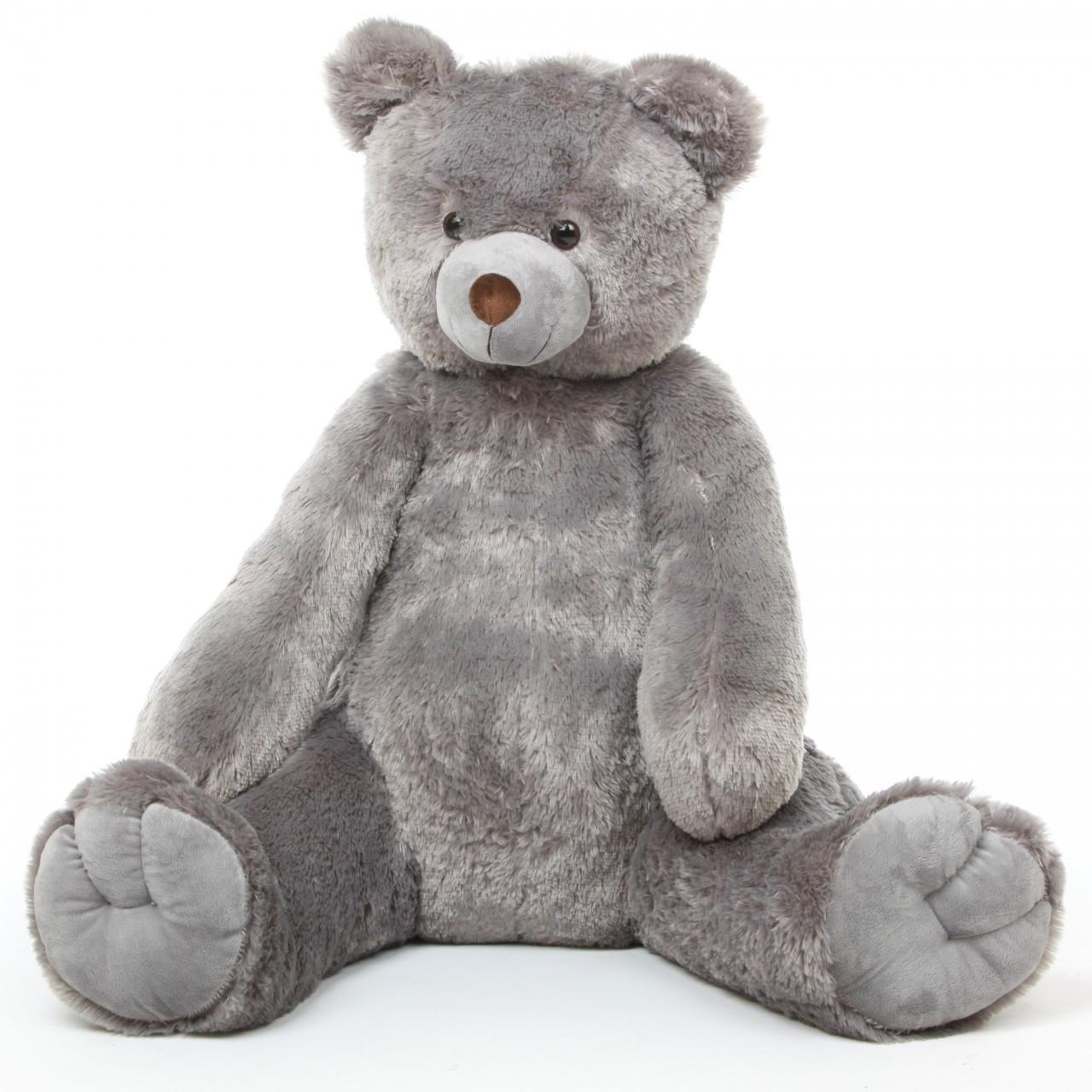Honey Tubs 42 Gray Cute Large Stuffed Teddy Bear Giant