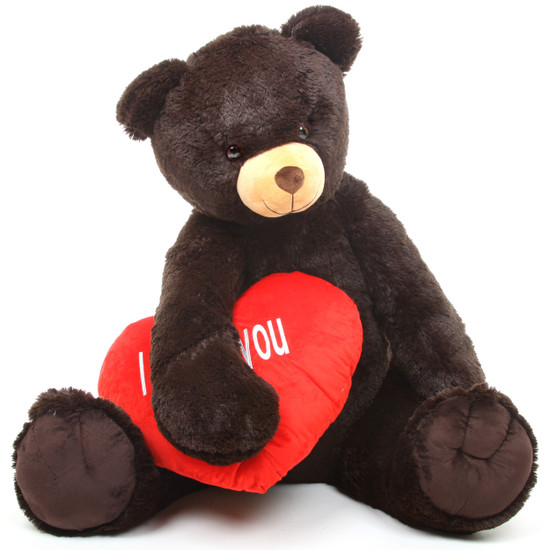 Baby Heart Tubs 42 Chocolate Teddy Bear W I Love You