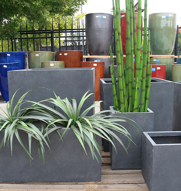 Tall Modern Planters