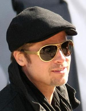 Brad Pitt Ic Berlin Bashir Sunglasses