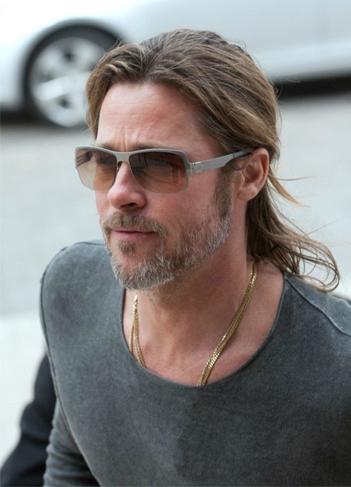 Brad Pitt Ic Berlin Mahroosa Sunglasses Golden Globe