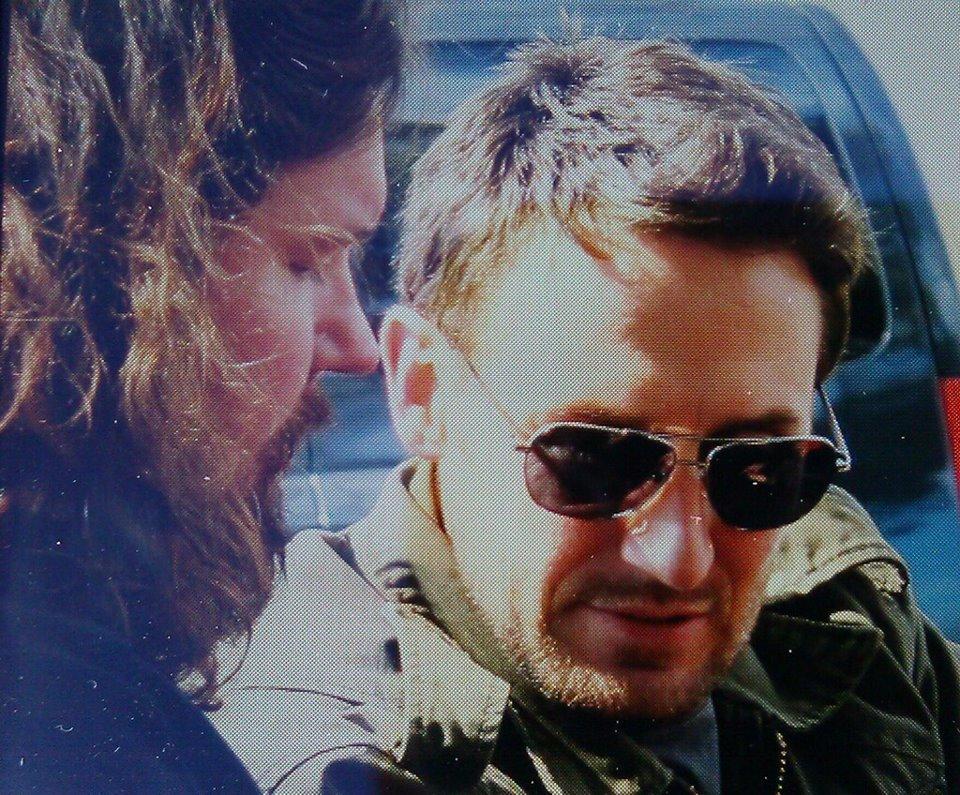 Josh Stewart Wearing The MATSUDA M8001 Sunglasses