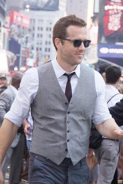 Ryan Reynolds Wearing MYKITA GREENE Sunglasses