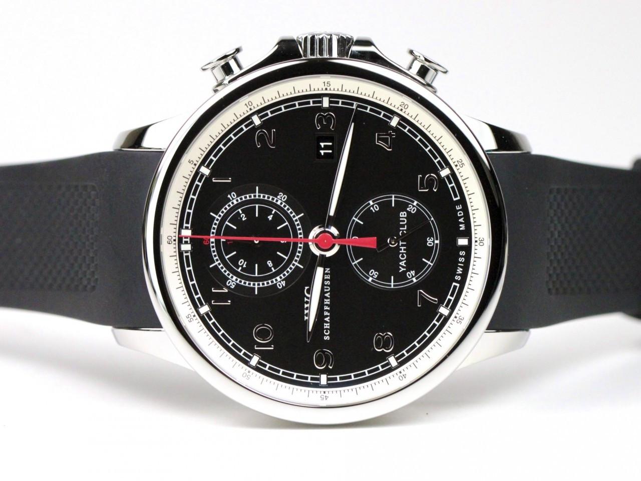 IWC Portuguese Yacht Club Chronograph Watch Swiss