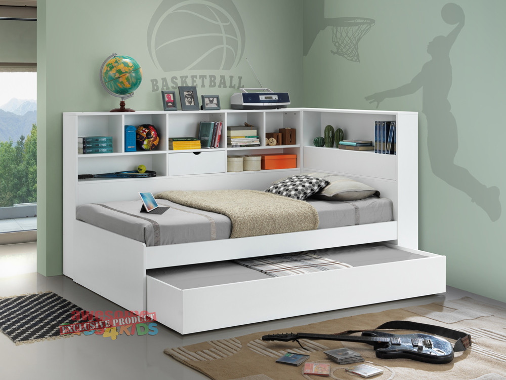 Miami Bookcase Bed Single Or King Single Delivery Australia Wide Awesome Beds 4 Kids