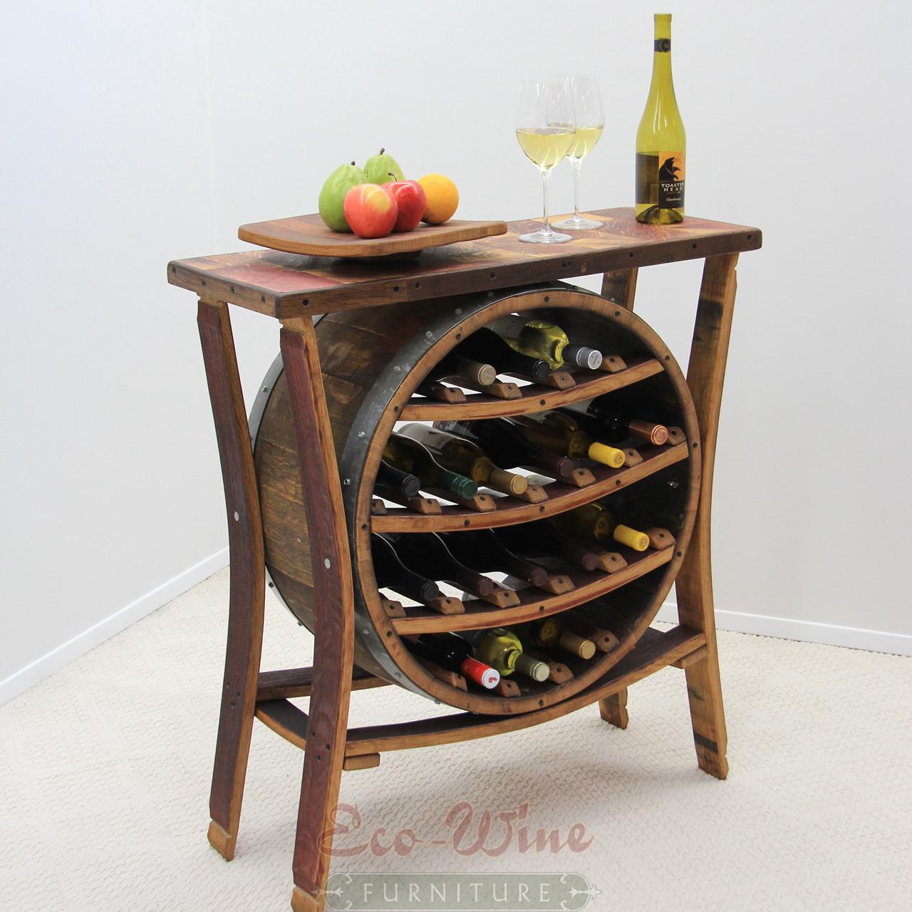 wine barrel wine rack ii