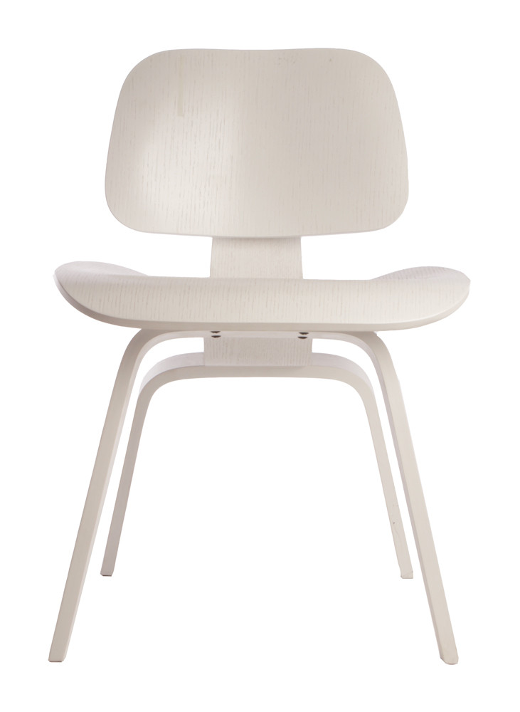 Replica Eames DCW in White with visible Grain