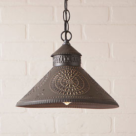 primitive and country style lighting
