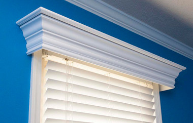 Wood Cornices Wood Valance Window Treatments Ashton