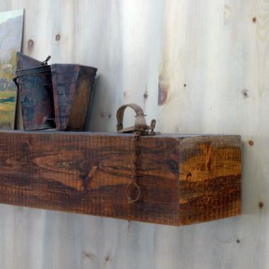 Appalachian Rustic Mantel Shelf In Custom Sizes MantelCraft Wooden Shelves
