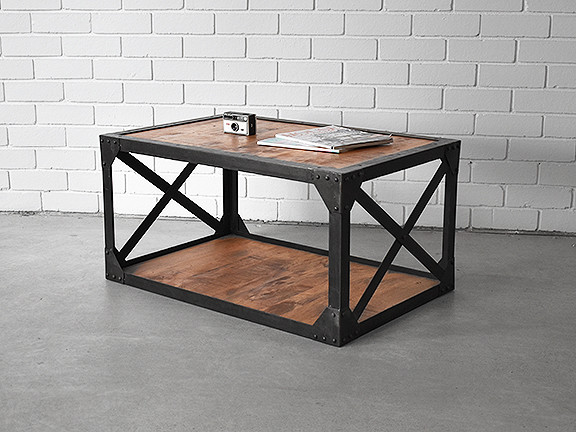 coffee table two tier