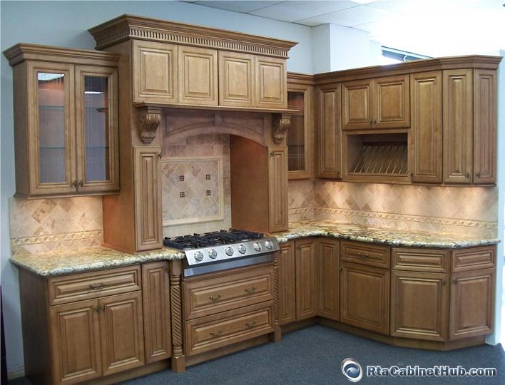Cinnamon Maple Glaze Rta Cabinet Hub Glazed Toffee
