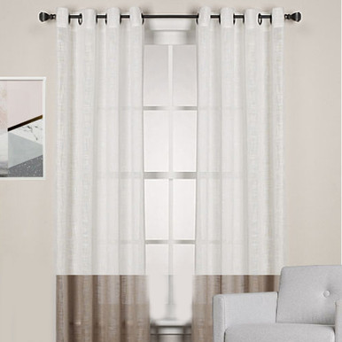 Linen Look Curtains Sheer Curtains Two Tone Curtains Quickfit Blinds And Curtains