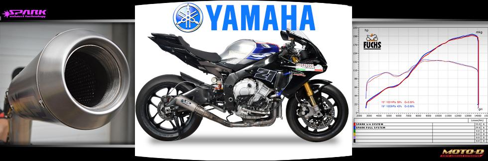 spark yamaha r1 gp titanium full exhaust system 2015
