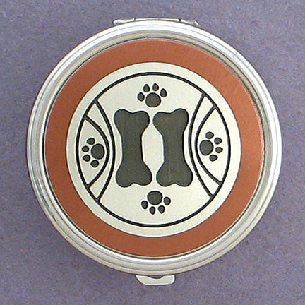 Custom Dog Theme Pill Case