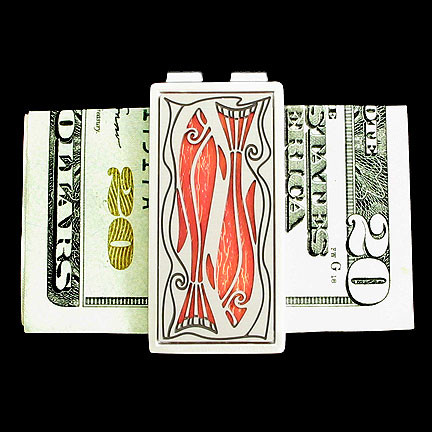 Personalized Fish Money Clip for Christian Men
