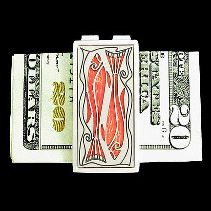 Custom Fisherman Money Clip