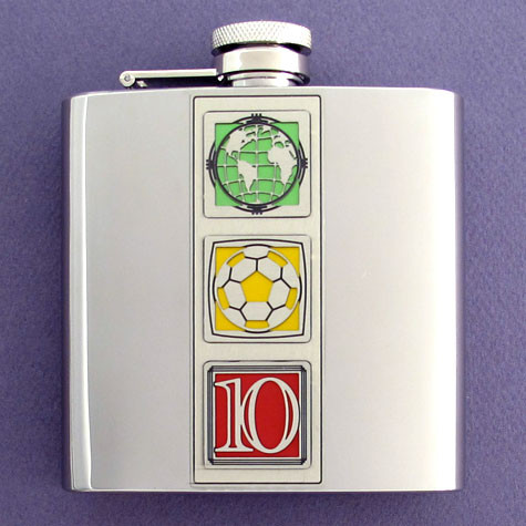 2010 World Cup Flask
