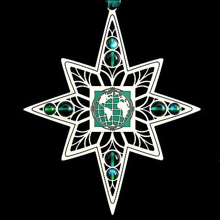 Going Green Christmas Ornament
