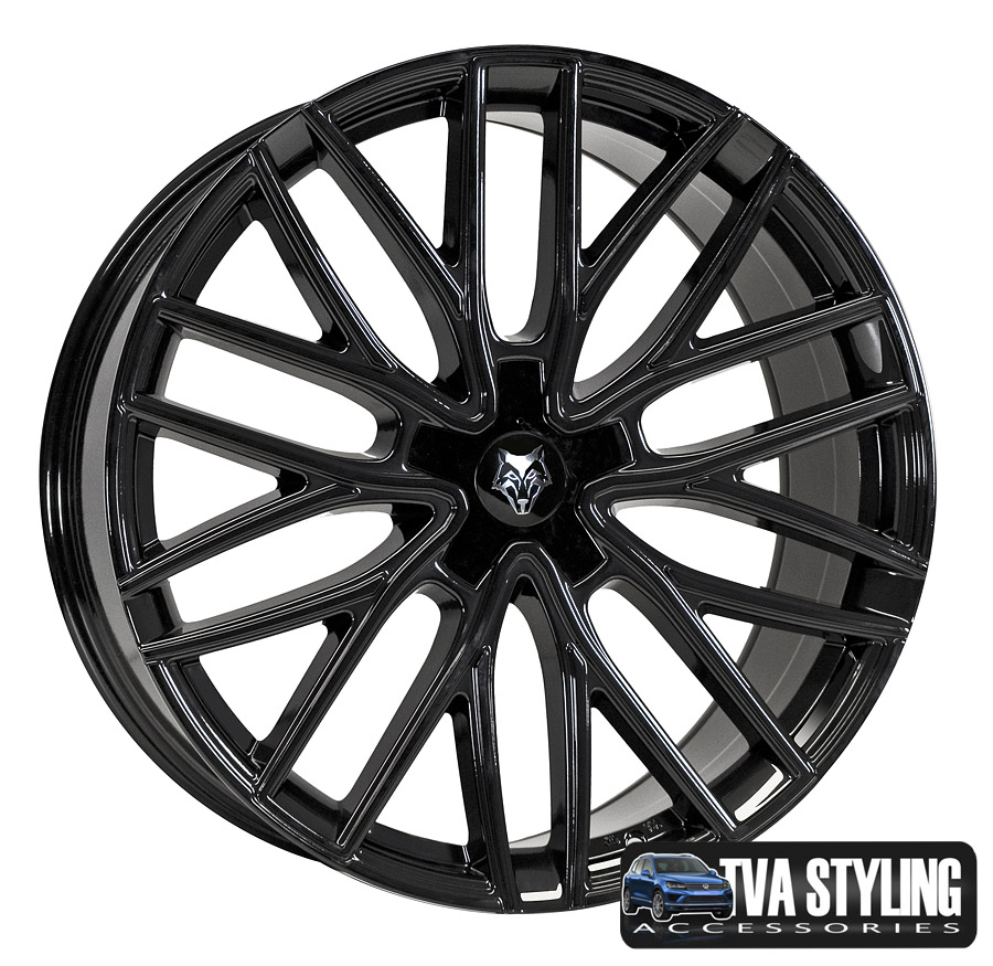 Our vw t5 wolfrace alloy wheels for vw vans are a great styling upgrade for volkswagen