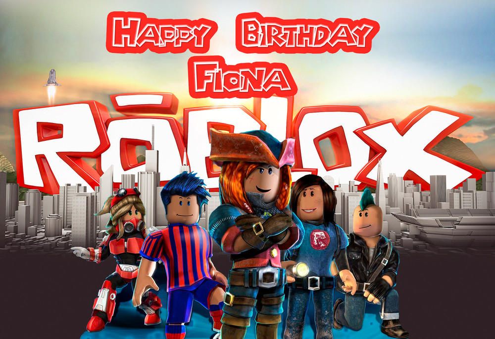 Roblox Personalized Poster