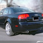 Awe Tuning Track Edition Dual Tip Exhaust For 2006 08 Audi B7 A4 3 2l Polished Silver Tips Etektuning Com