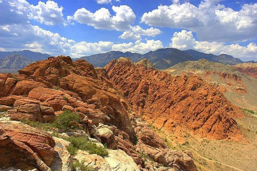 Calico Basin in Red Rock National Conservation Area. Source: Wikipedia Commons