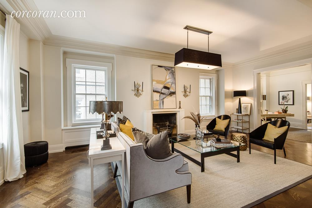 Uma Thurman's living room