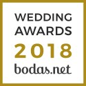Los Robles Eventos, ganador Wedding Awards 2018 Bodas.net