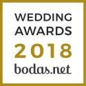 Los Robles Eventos, ganador Wedding Awards 2018 Bodas.net