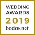 José Aguilar Foto Vídeo Hispania, ganador Wedding Awards 2019 Bodas.net