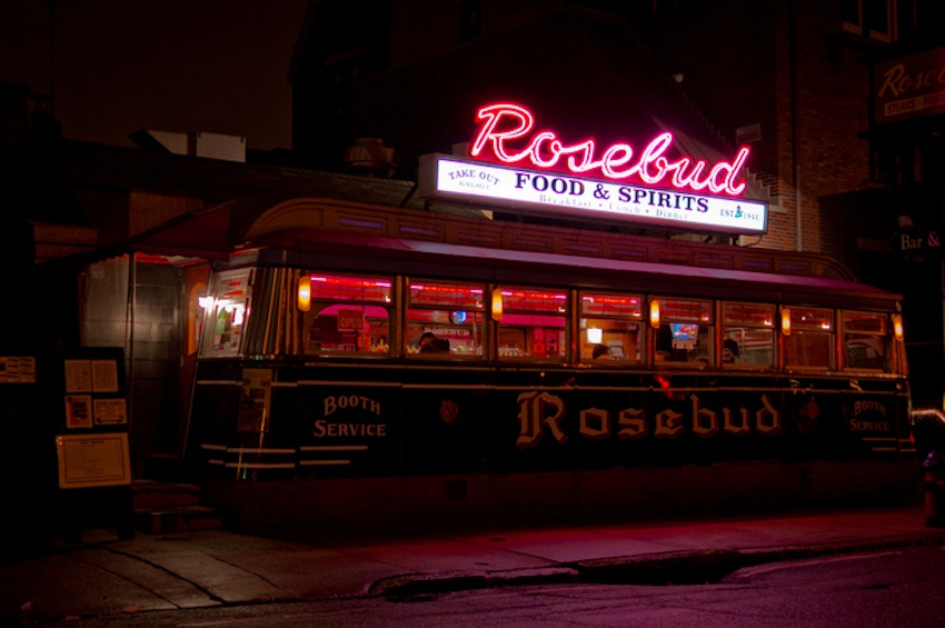 The Rosebud Diner - Somerville, Massachussets - Copyright Tim Sackton