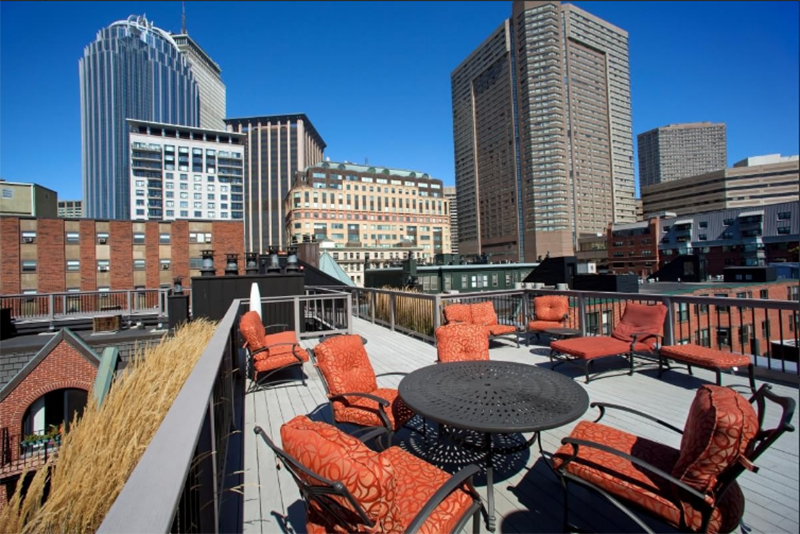 Five Boston Apartments For Rent With Roof Decks