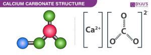 CaCO3  Calcium Carbonate Structure, Chemical Formula