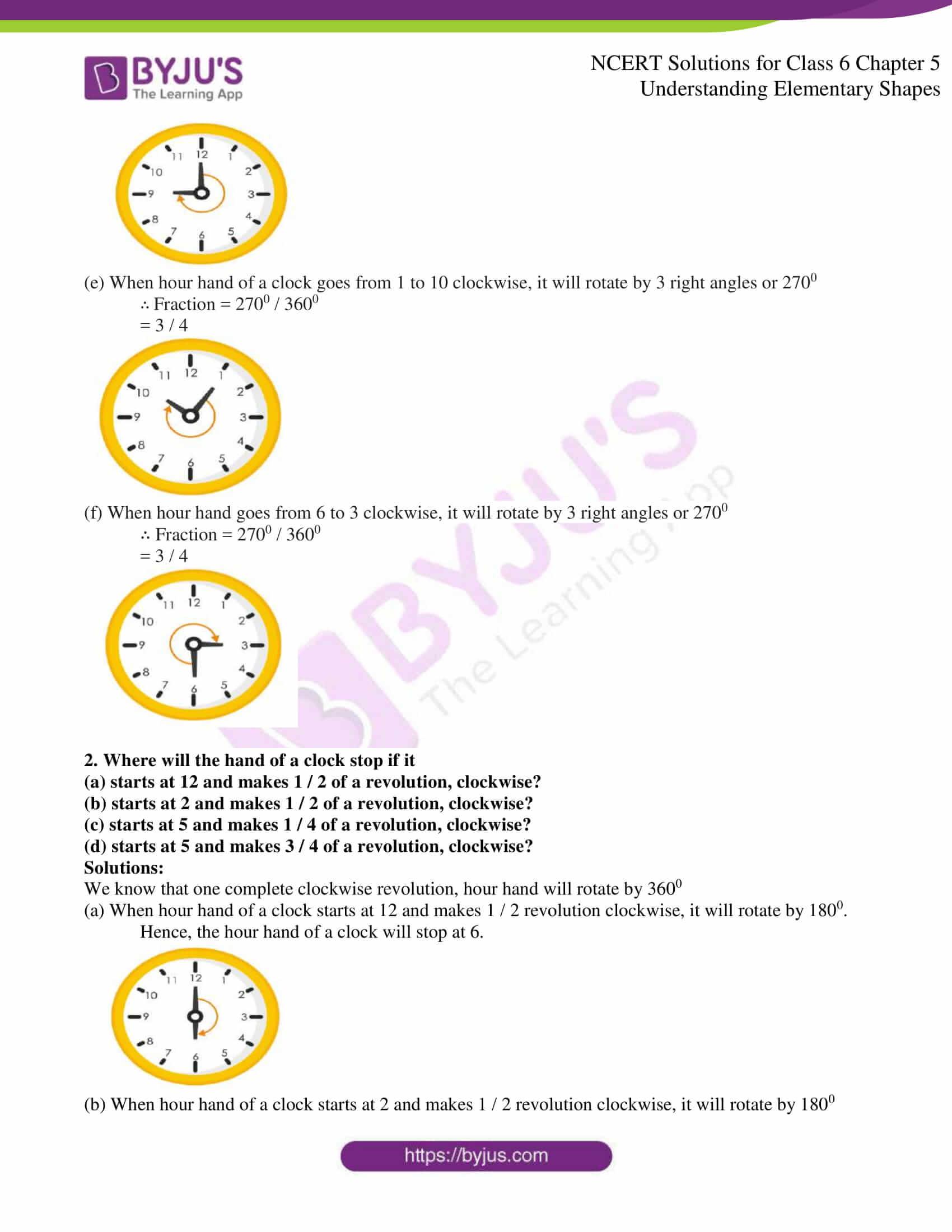 Ncert Solutions Class 6 Maths Chapter 5 Understanding