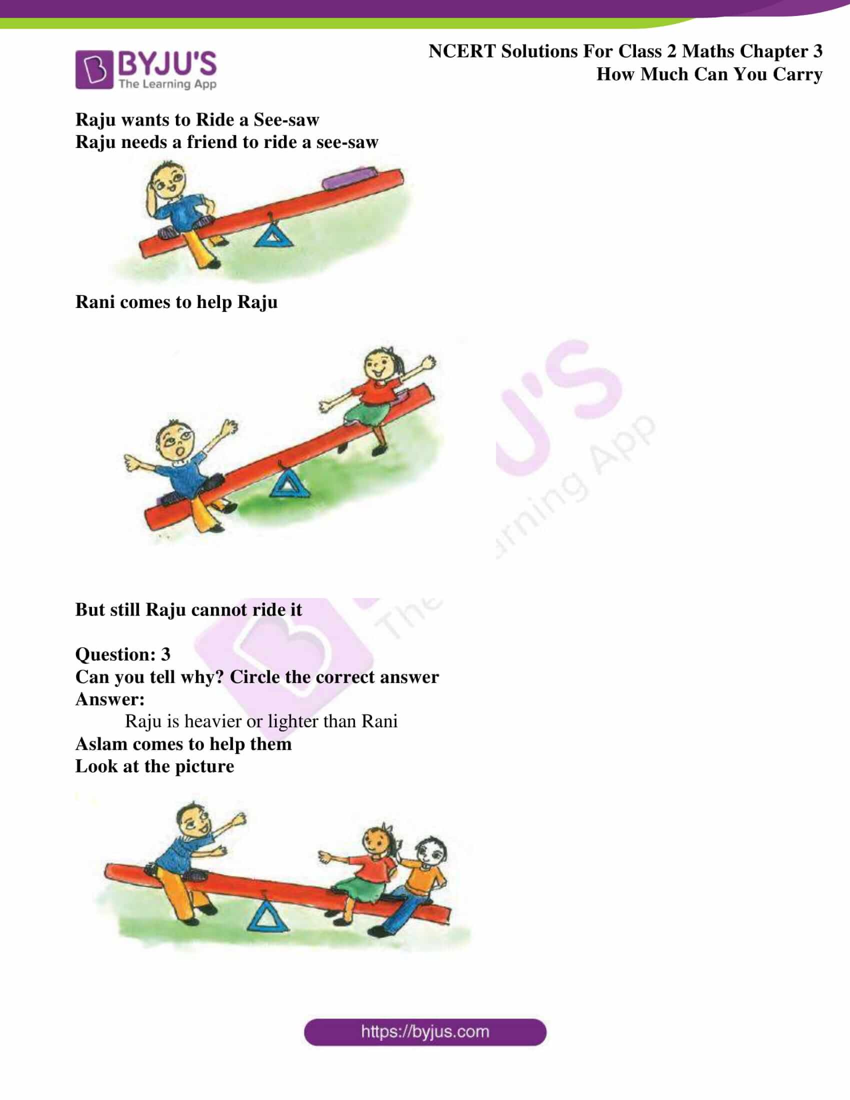 Ncert Solutions For Class 2 Maths Chapter 3 How Much Can