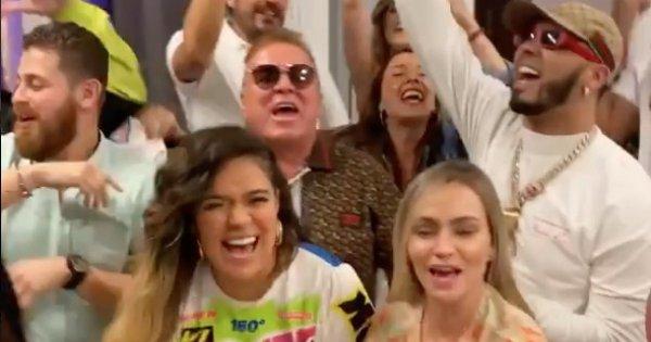 """Karol G y su familia se divierten cantando y bailando su tema """"Tusa"""""""