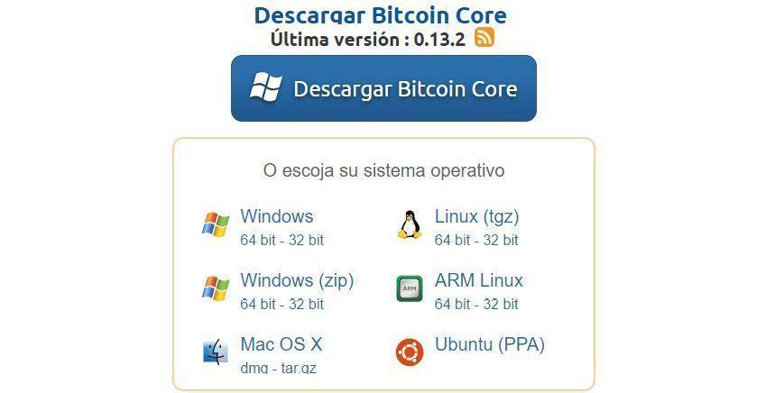 descargar Bitcoin Core