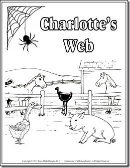 charlotte s web unit study confessions of a homeschooler